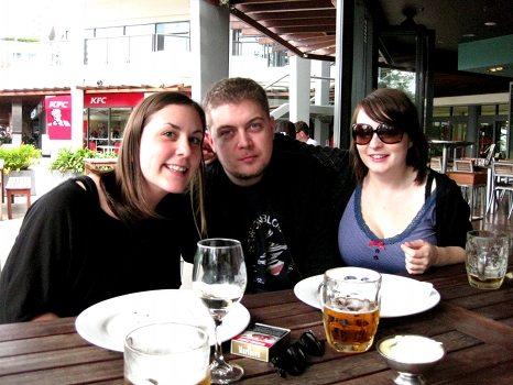 Me, Gavin and Tristie