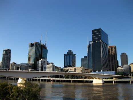 Brisbane City and the bridge