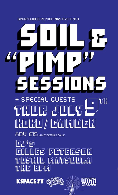 Soil & Pimp Sessions Koko 9th july