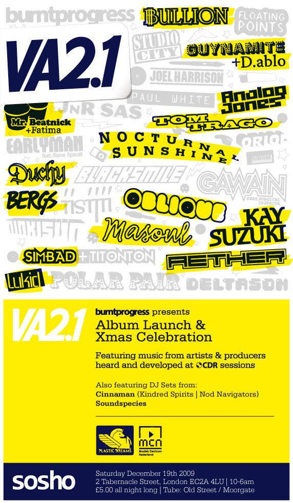 Burnt Progress 2.1 Album Launch Party