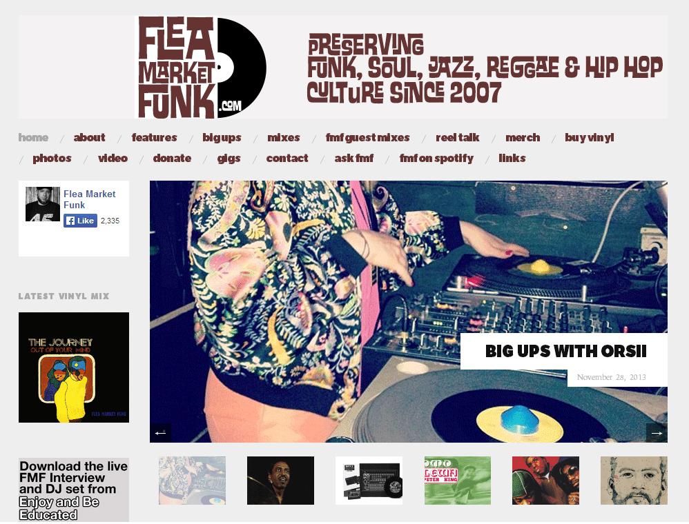 flea market funk feature