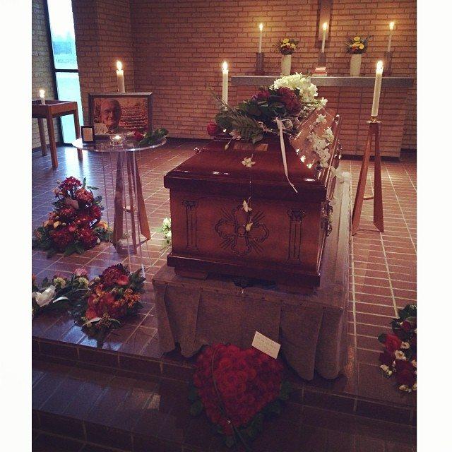 Granddad funeral