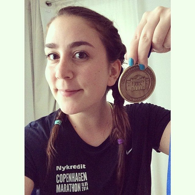 Copenhagen Marathon Medal