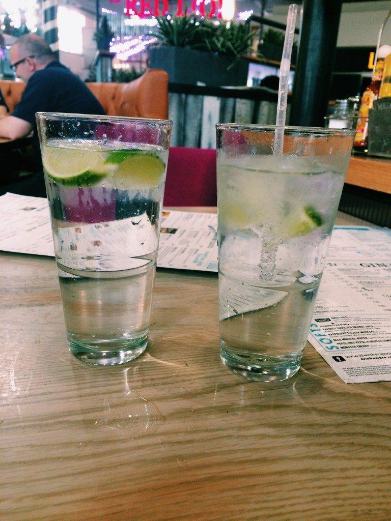 Gin & Tonic at Gatwick