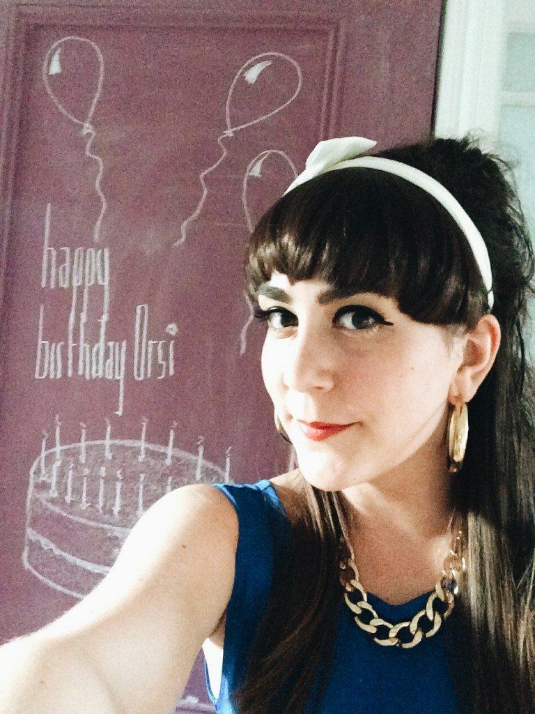 Happy Birthday Orsi!
