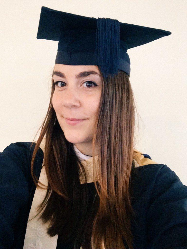Orsii Graduation Selfie